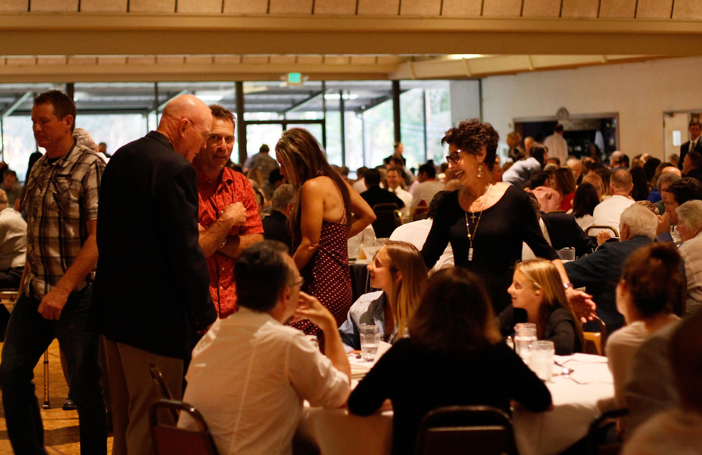 . The 45th annual Chico Sports Hall of Fame and Senior Athletes Banquet Tuesday May 9, 2017 at the Elks Lodge in Chico, California. (Emily Bertolino -- Enterprise-Record)