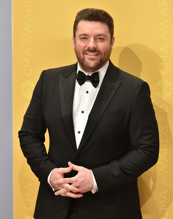 . Chris Young arrives at the 50th annual CMA Awards at the Bridgestone Arena on Wednesday, Nov. 2, 2016, in Nashville, Tenn. (Photo by Evan Agostini/Invision/AP)