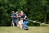 Members of local Fire Departments (Guilford, Vernon, & Colraini) competed in a tug of war tournament at the Guilford Fair (pictured here - Guilford); KELLY FLETCHER, REFORMER CORRESPONDENT