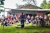 Fred DePaul demonstrates sheep shearing at the Guilford Fair on September 1; KELLY FLETCHER, REFORMER CORRESPONDENT