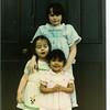 1980 Easter - Leigh, Krista, Toni