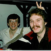 1981 - New Year's Party - Don and Dan?