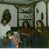 1981 - New Year's Party - Mike Kramer, Mikey Criswell, Norie and ??