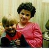 1983 - March - Danville - Aunt Gerry and Dustin