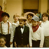 "April 1984 - school play at Garfield - ""The Villain Strikes Again""<br /> Me, Chad C, Matt M<br /> Scott V, Keith L, Jill M, David C"