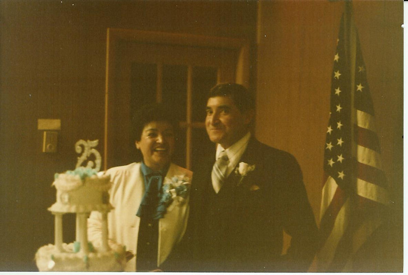 March 1984 - Louis and Francis Amesquita 25th wedding anniversary