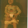 April 1984 - Morgan potty training - haha!
