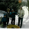 January 1985 - Morgan, Teresa, me and Nikki