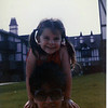 May 1985 - Morgan and Mom