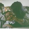 March 1985 - Easter - me, Morgan and Jordan