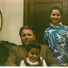 FEB 1987 - Father/Daughter Date Night at Garfield - Bob told everyone he was Mr Wilson!