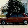 1987 - FEB - the Renault Encore that I would total in 1991 :(