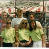 1989 - Riverfest - Jenny, Andrea, me and the skaters from Minneapolis.  We had some kind of job there and thought we were the coolest kids in town hanging out with these (old) skaters - Dave, Demo and Greg?