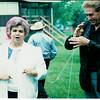 May 1990 - Bonnie Adams and a magician