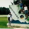 June 1991 - New Orleans - Nikki, Morgan, me