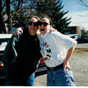 FEB1995 - Andrea and I in Carbondale