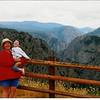 Me, Mom and Donovan at Black Canyon, CO