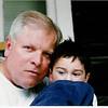 Bob and Donovan at Beaver Lake Lodge, Marble, CO