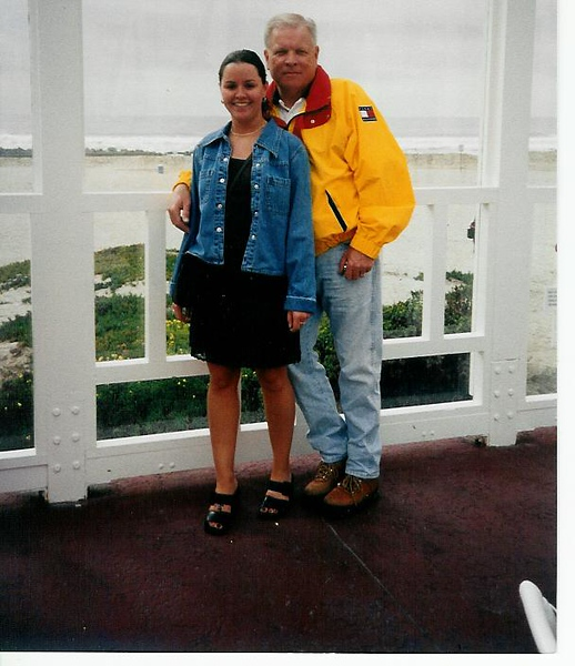 JAN98<br /> Me and Bob at Hotel Del Coronado, San Diego