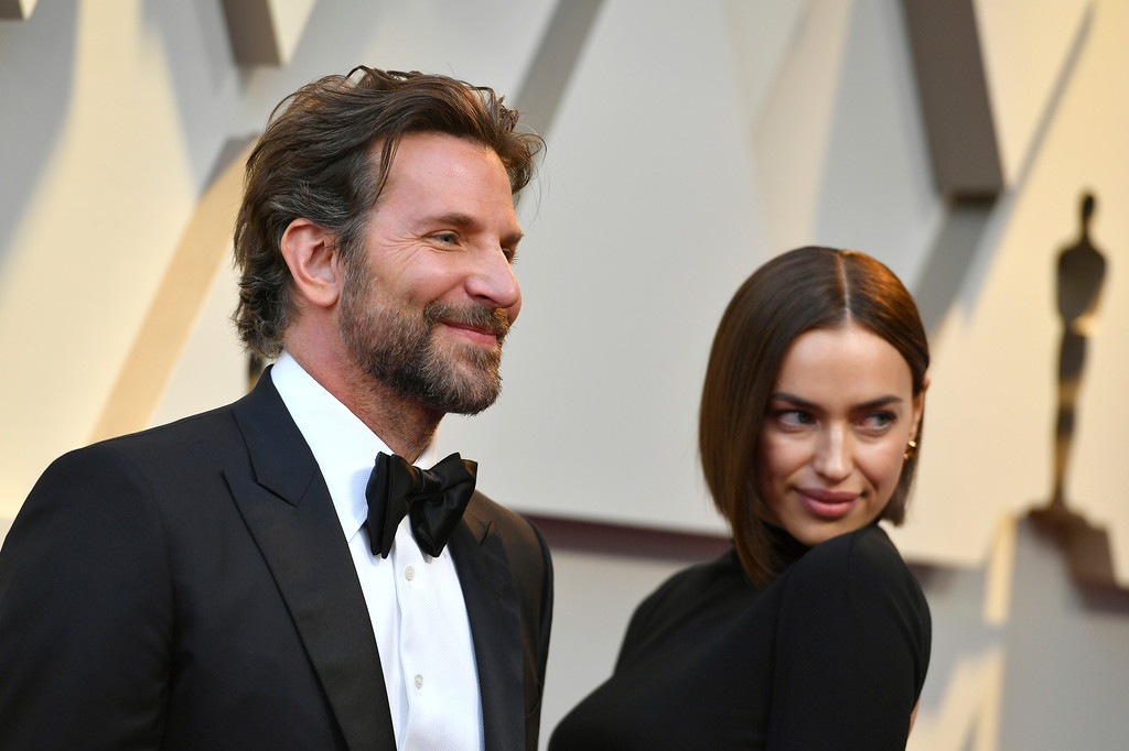 . Bradley Cooper, left, and Irina Shayk arrive at the Oscars on Sunday, Feb. 24, 2019, at the Dolby Theatre in Los Angeles. (Photo by Jordan Strauss/Invision/AP)