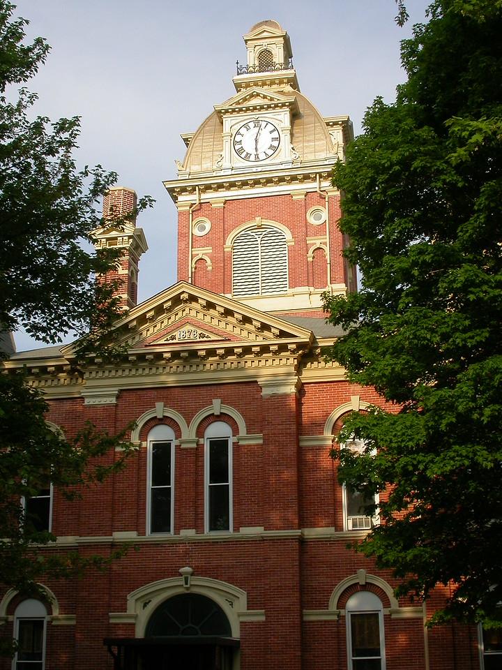 Lagrange County Courthouse, Lagrange Indiana, May 2004.