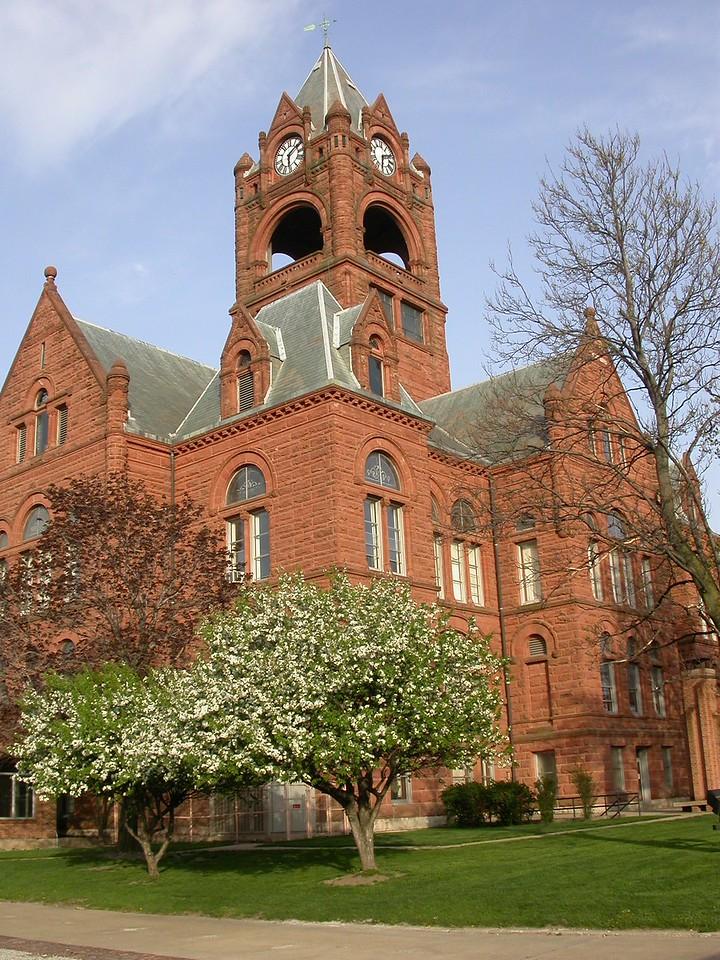 LaPorte County Courthouse, LaPorte, Indiana, April 2004