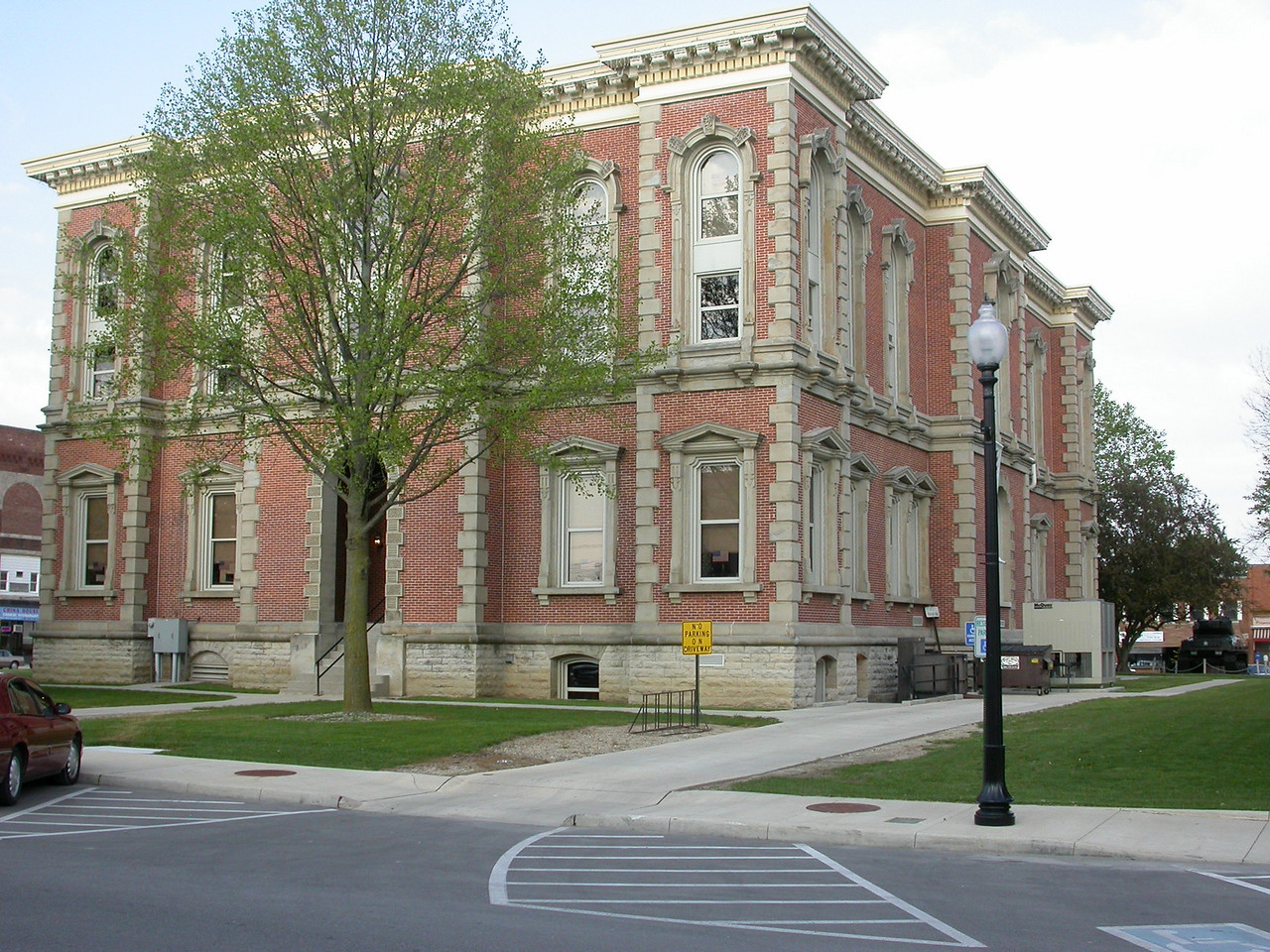Randolph County Courthouse, Winchester, Indiana, May 2004.