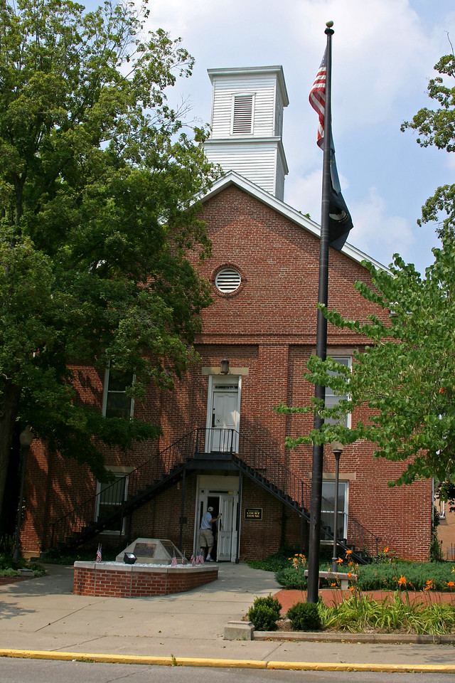 Brown County Courthouse, Nashville, Indiana, July 19, 2006
