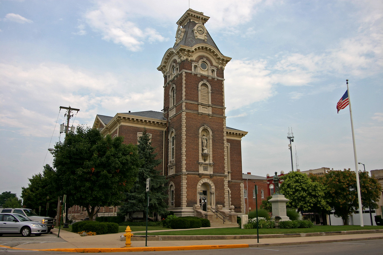 Henry County Courthouse, New Castle, Indiana, July 18, 2006