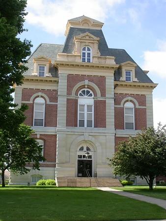 Indiana's 92 County Courthouses - indianajones