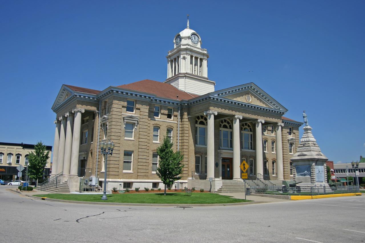 Dubois County Courthouse, Jasper, Indiana, July 16, 2006