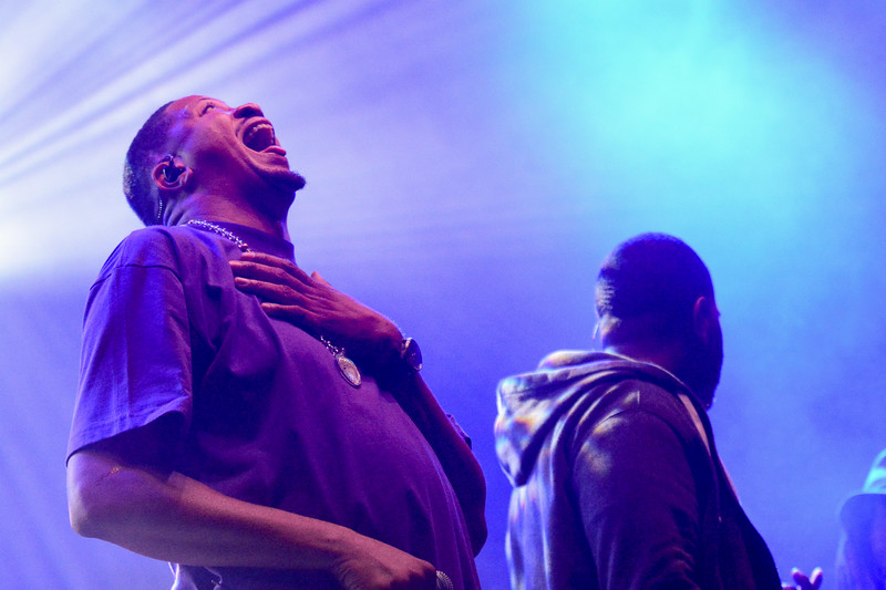 Celebrating 23 years, the Hip Hop band Jurassic 5 delighted the audience at the 4th annual ARISE Music Festival, Friday, August 6, 2016.