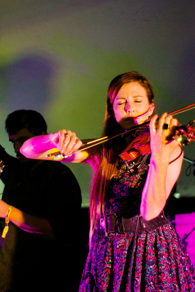 Nederland's Gipsy Moon perform at the Starwater Stage during the ARISE Music Festival, Saturday, August 6, 2016, held on Sunrise Ranch outside of Loveland Colorado.