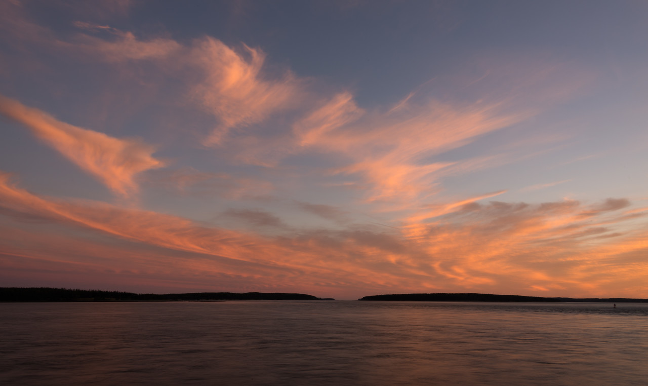 Cloudscape, Eastern Approaches, Blue Hill Bay      September 2014