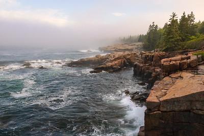 Fog at Sunset, Ocean Drive