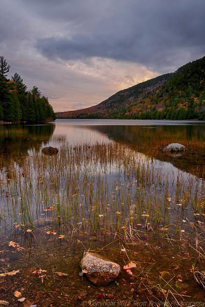 Bubble Pond, Evening Light, Autumn