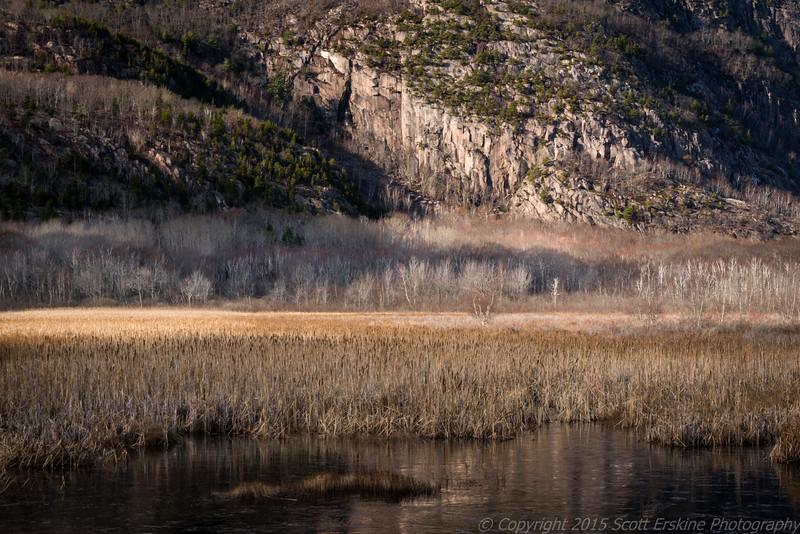 Champlain Mountain, Late Autumn Light