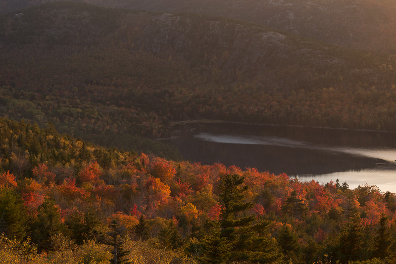 Autumn Sunset, Eagle Lake Overlook
