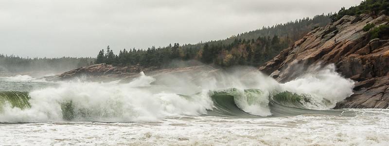 October Storm, Sand Beach       October 2014