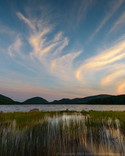 Sunset Swirls, Eagle Lake
