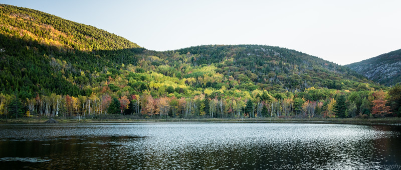 Beaver Pond, Acadia National Park, Early Evening