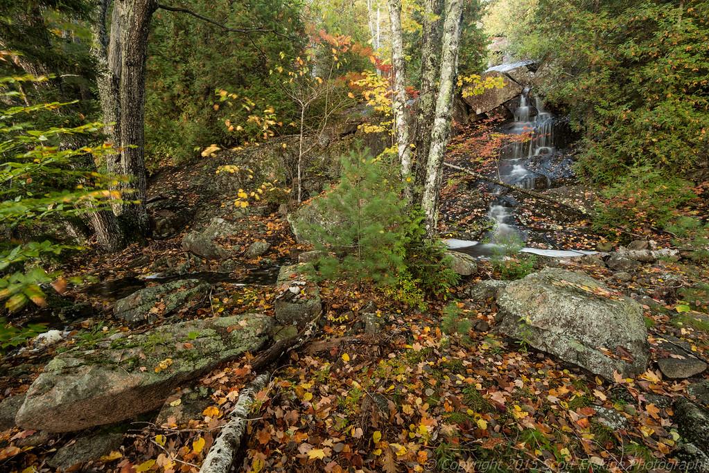 Hidden Cascade, Autumn