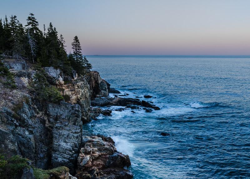 Acadia Coast Evening