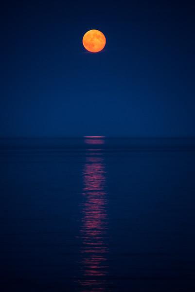 Moonrise, Gulf of Maine