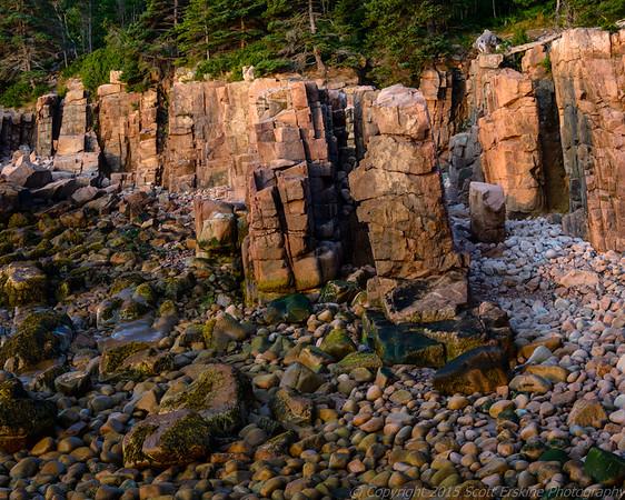 Sea Stacks in Pre Dawn Light