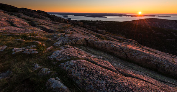 Sunrise, Cadillac Mountain, Sept 2013