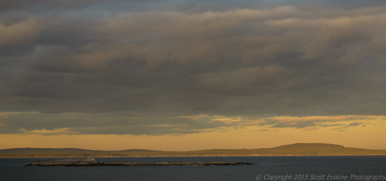 Storm Light, Old Soaker and Schoodic Headlands
