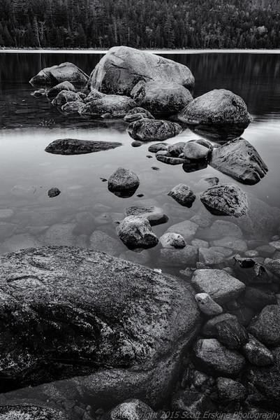 Jordan Pond Boulders