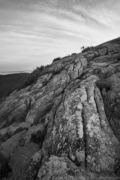 Lichen, Granite and Clouds, Cadillac Mountain