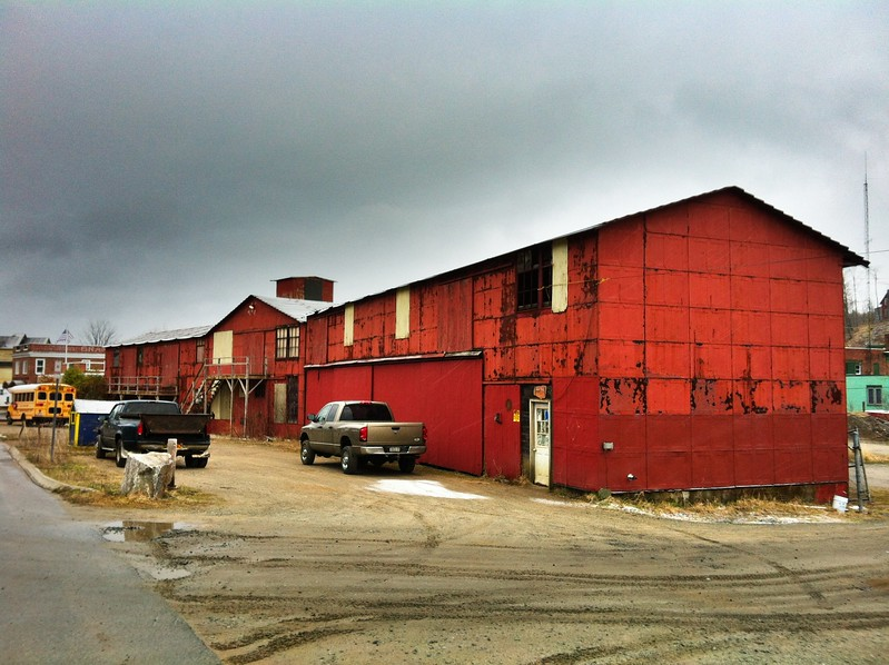Old building on Depot Street